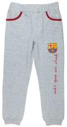 Spodnie fc barcelona szare 11 lat