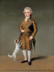 Reprodukcja portret vicente osorio de moscoso, francisco goya