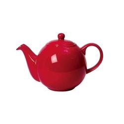 Dzbanek do herbaty 1,5 l czerwony Globe London Pottery