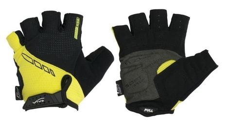 Rękawiczki rowerowe vivo sb-01-7001-b czarno-żółte
