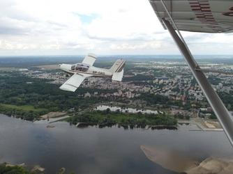 Lot widokowy samolotem - toruń - 25 minut
