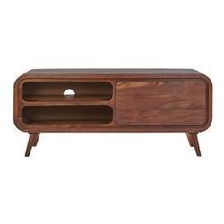 Table4u ::  drewniana szafka rtv zośka 120x40x50 - kolor czekolada
