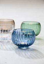 Niebieski, szklany wazon signum zwiesel 1872 mały sh-6086-100-mb