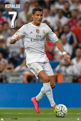 Cristiano Ronaldo - Real Madryt - plakat