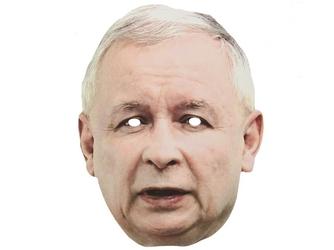 Maska jarosław kaczyński - 1 szt.