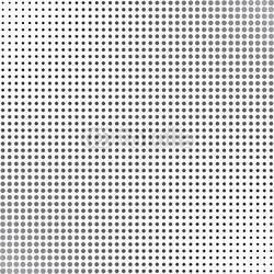 Obraz na płótnie canvas czteroczęściowy tetraptyk szare kropki w półtonach