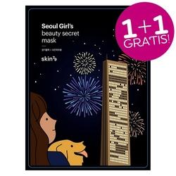 Skin79 zestaw 2szt. rewitalizująca maska w płacie seoul beauty mask vital care 2x20g