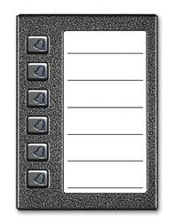 Aco cdn-6np st podświetlany panel listy lokatorów z 6 przyciskami - szybka dostawa lub możliwość odbioru w 39 miastach