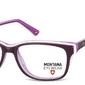 Damskie oprawki korekcyjne, optyczne nerdy montana ma81d fioletowe