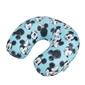 Poduszka podróżna z animacją myszki mini i miki - mickeyminnie blue