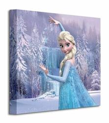 Frozen Elsa Frozen Forest - Obraz na płótnie