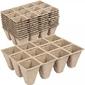 Doniczki torfowe – 12 komórek x 10 szt.
