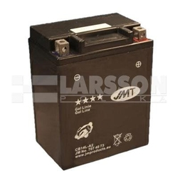 Akumulator żelowy jmt yb14l-a2 cb14l-a2 1100336 yamaha fj 1200, fz 750, xs 650