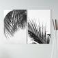 Zestaw dwóch obrazów - perfect palms , wymiary - 80cm x 120cm 2 sztuki
