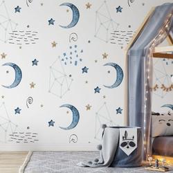 Tapeta dla dzieci - night light , rodzaj - tapeta flizelinowa laminowana