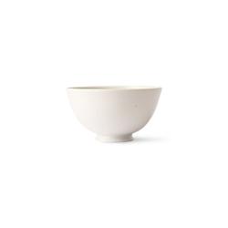 Hkliving kyoto ceramics: japanese rice bowl white speckled ace6984