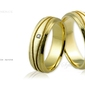 Obrączki ślubne - wzór au-638
