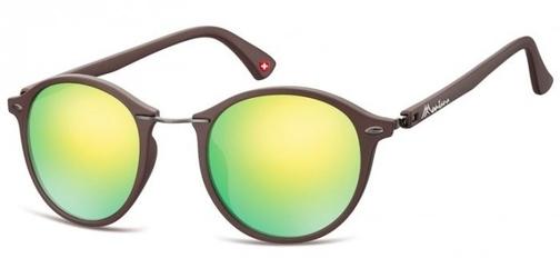 Okragle okulary przeciwsloneczne lustrzanki ms22e