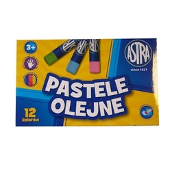 Pastele olejne astra - 12 kolorów