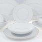 Serwis obiadowy bez wazy dla 12 os.  44 części - 3604 sofia  złota