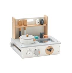 Mini kuchnia drewniana kids concept - szara