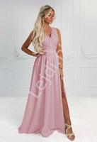 Cukierkowo różowa sukienka wieczorowa - juliette 2