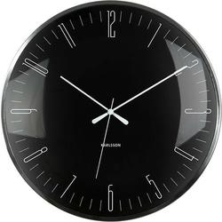 Zegar ścienny Dragonfly czarny