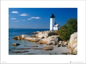Tom mackie lighthouse - plakat premium