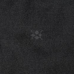 Eleganckie bawełniane gładkie skarpety burlington w kolorze czarnym rozmiar 40-46