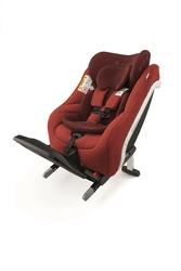 Concord reverso plus autumn red fotelik rwf z i-size + lusterko dla dziecka