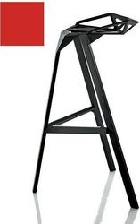 Stołek barowy stool_one 84 cm czerwony