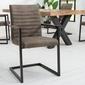 Interior space :: krzesło loft szary ciemnoszary