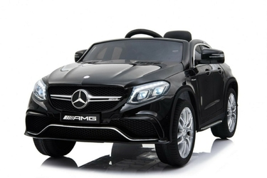 Mercedes gle63 duży czarny samochód na akumulator + pilot