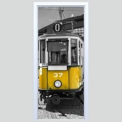 Fototapety na drzwi tramwaj 573a