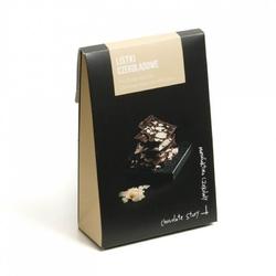 Czekoladowe listki. czekolada mleczna i migdał - wyjątkowo cienkie kawałki czekolady z wybornymi dodatkami, idealny dodatek do prezentu lub elegancki drobny upominek