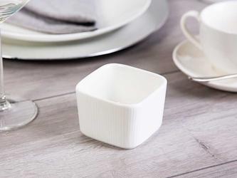 Kokilka  ramekin  dipówka  małe naczynie do zapiekania porcelanowe altom design regular kwadratowe 7,5 cm