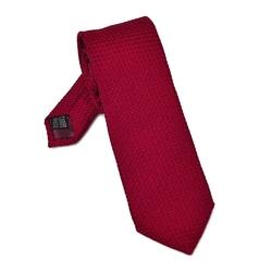 Elegancki czerwony krawat van thorn z grenadyny garza grossa długi 99
