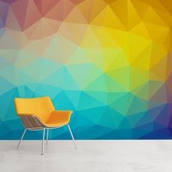 Kolory 3d - tapeta designerska , rodzaj - tapeta flizelinowa