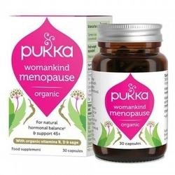 Womankind menopause bio 30 kapsułek suplement diety pukka