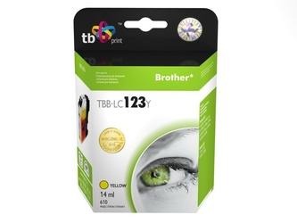 Tb print tusz do brother lc123 tbb-lc123y ye