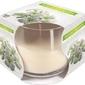 Bispol, świeca zapachowa w szkle, białe kwiaty, 1 sztuka