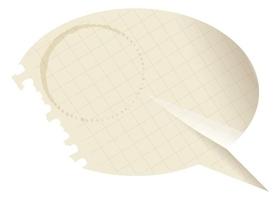 Tablica suchościeralna magnetyczna papierowy dymek 148