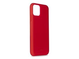 Etui silikonowe puro icon cover do apple iphone 11 pro 5.8 czerwone - czerwony