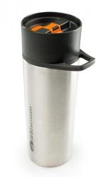 Kubek termiczny gsi glacier stainless commuter javapress - srebrny