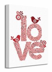 Red Love - Obraz na płótnie