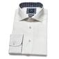 Lniana biała koszula profuomo originale 44