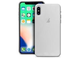 Etui puro ultra slim 0.3 cover apple iphone xxs półprzezroczyste