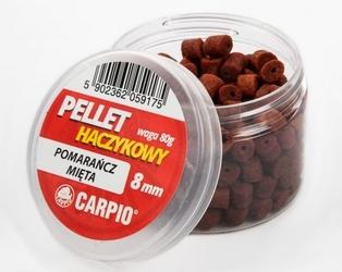 Pellet haczykowy 8mm fermentowana kukurydza 80g carpio