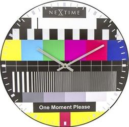 Zegar ścienny test page dome