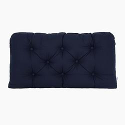 Poduszka-wezgłowie duża - gładka - granatowa